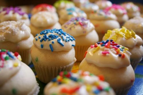Funfetti Cookies Using Cake Mix