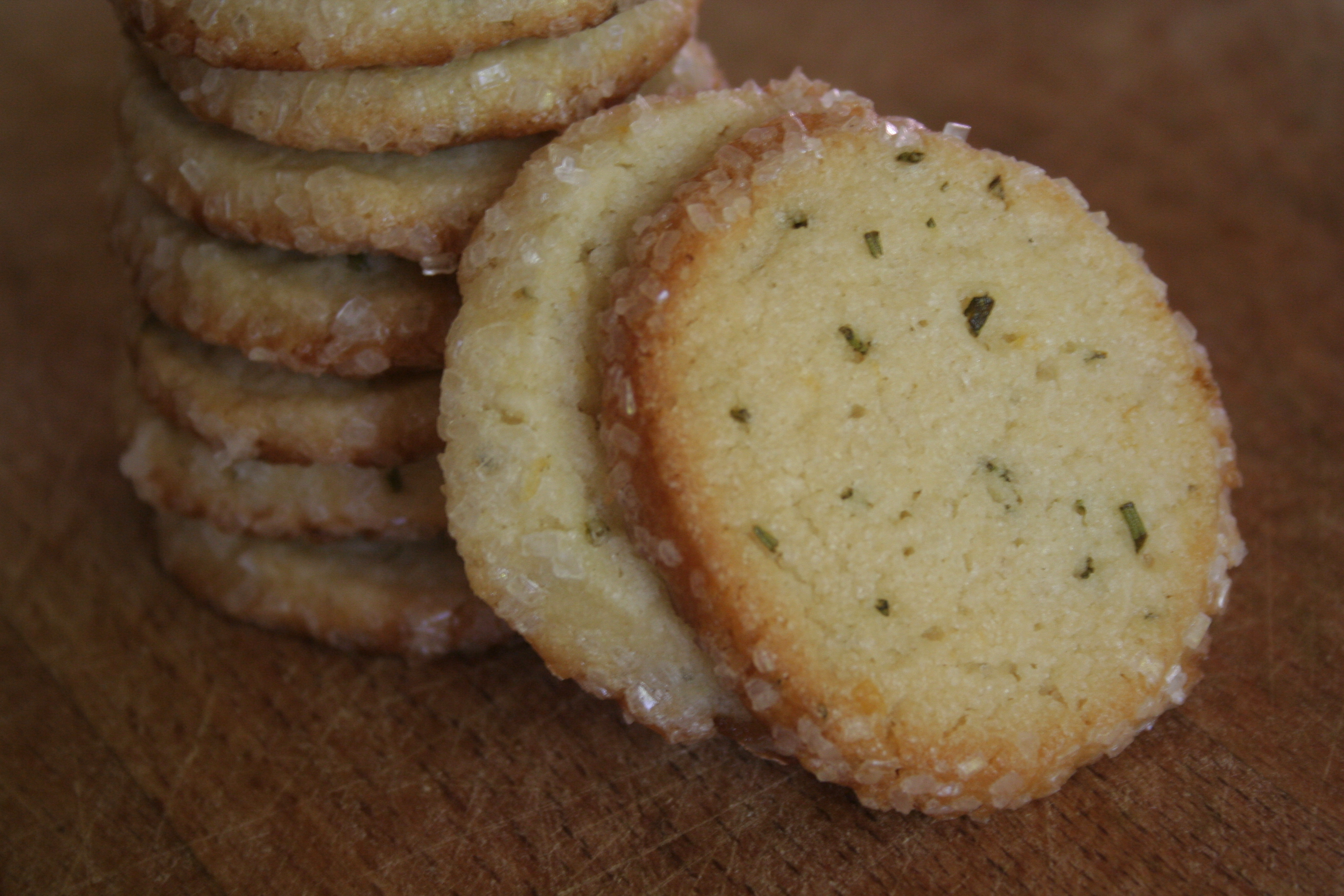 Rosemary Lemon Sugar Cookies | Cookies and Candids