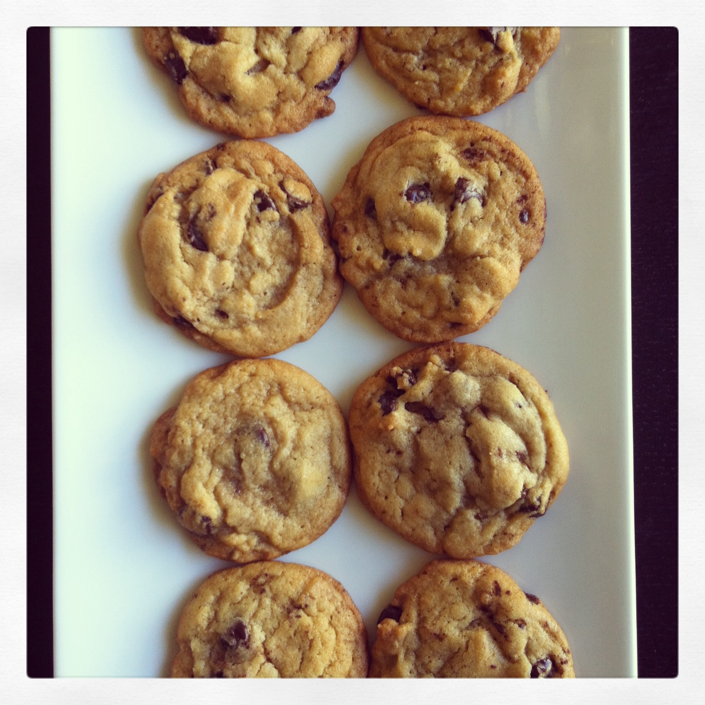 New York Times Chocolate Chip Cookies | Cookies and Candids