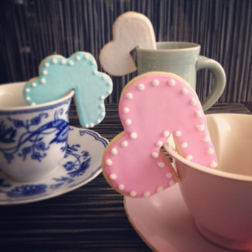 Tea and Cookies - thatsonetoughcookie.com